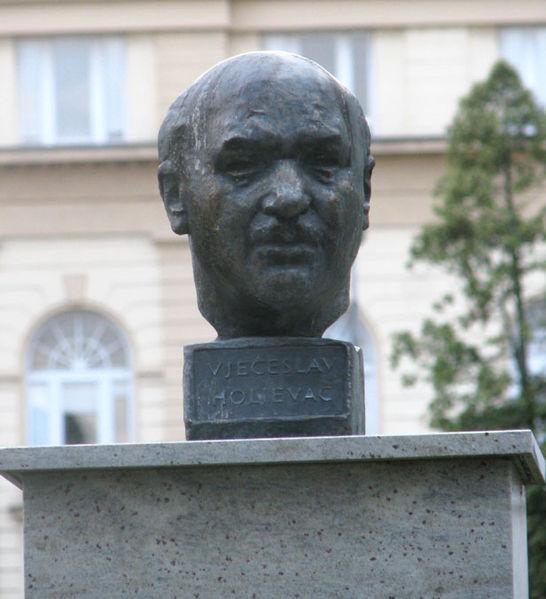 Buste Većeslav Holjevac