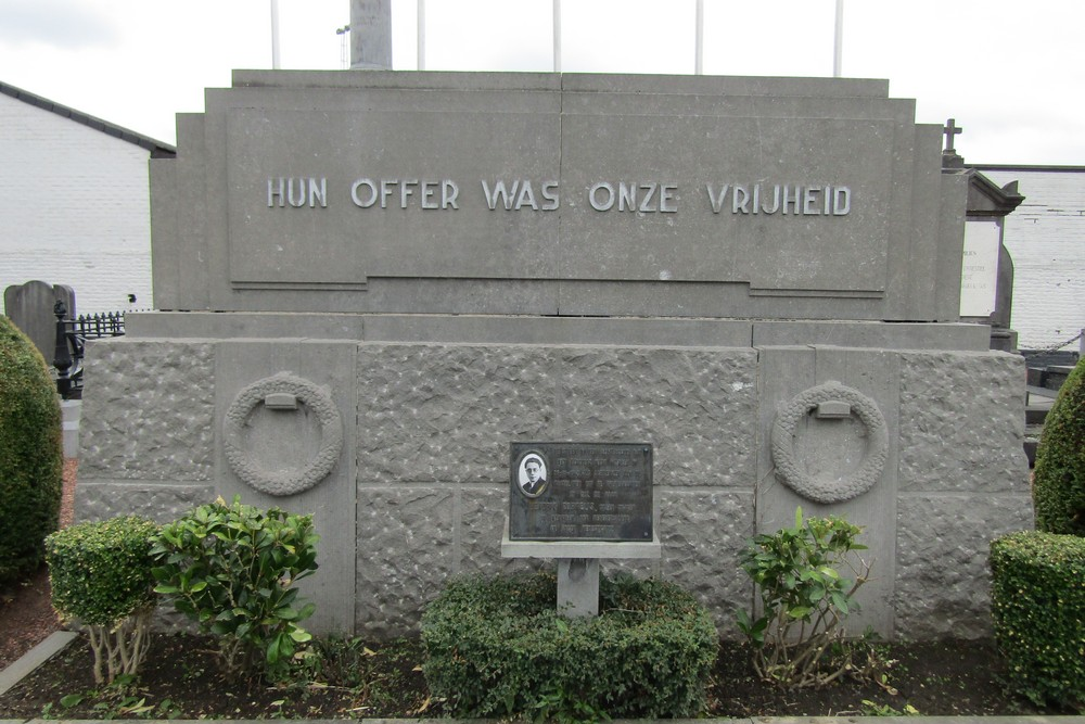 Monument Martelaren Concentratiekampen Aalst