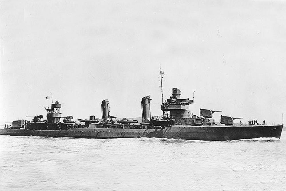 Shipwreck USS Gwin (DD-443)