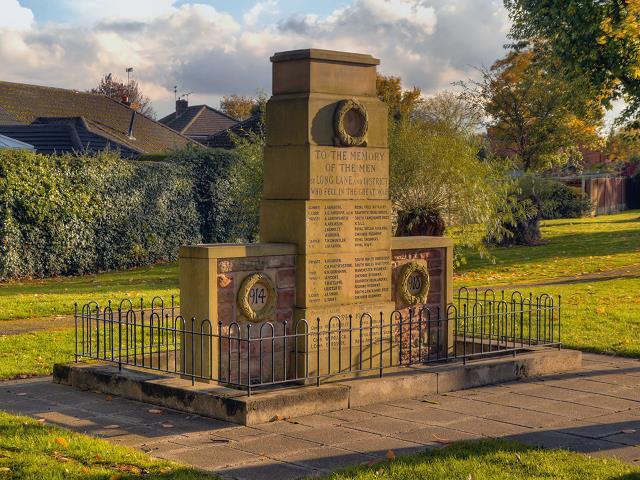 War Memorial Heald Green