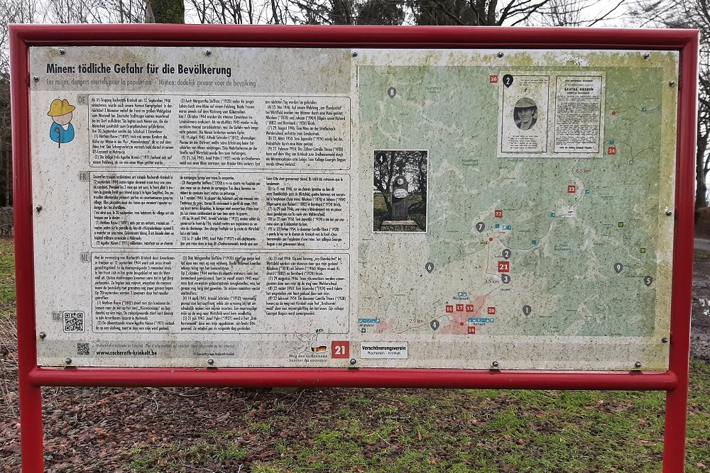 Route of Commemoration No.21: Mines