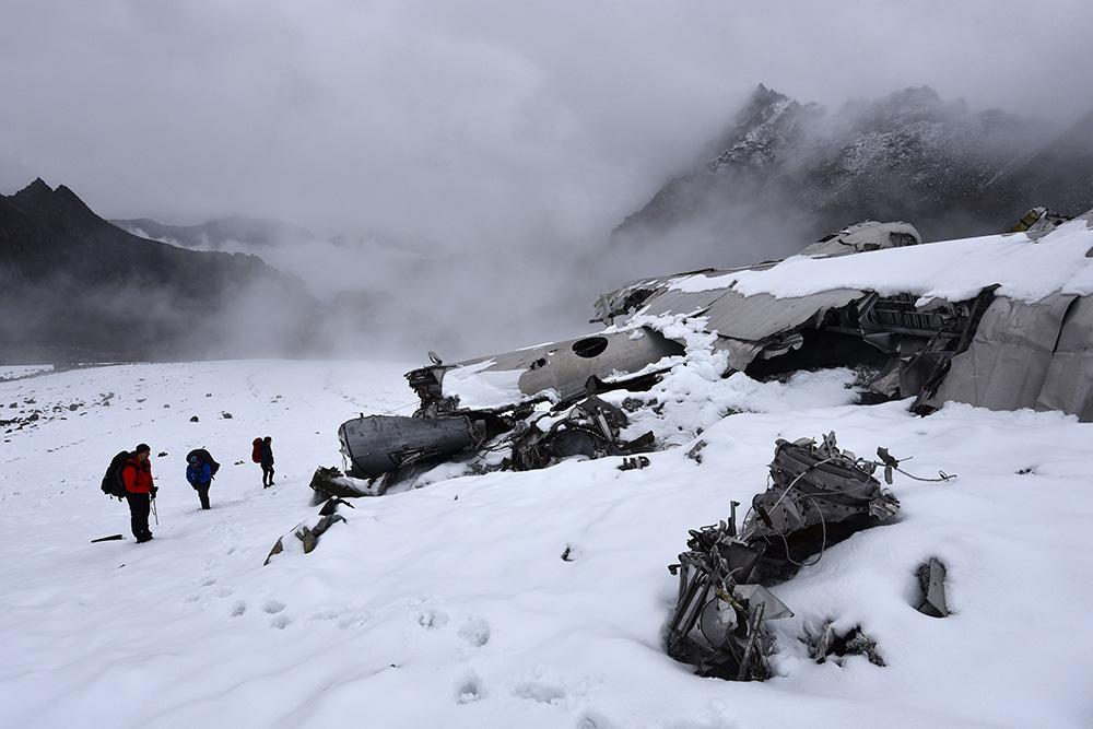 Crash Site & Remains TB-29 Superfortress #44-70039