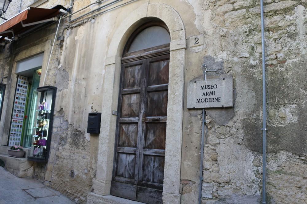Museum voor Moderne Wapens San Marino