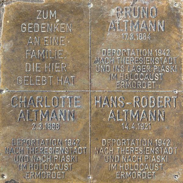 Gedenksteen Radeckgasse 5