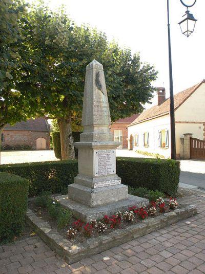 War Memorial Le Mont-Saint-Adrien