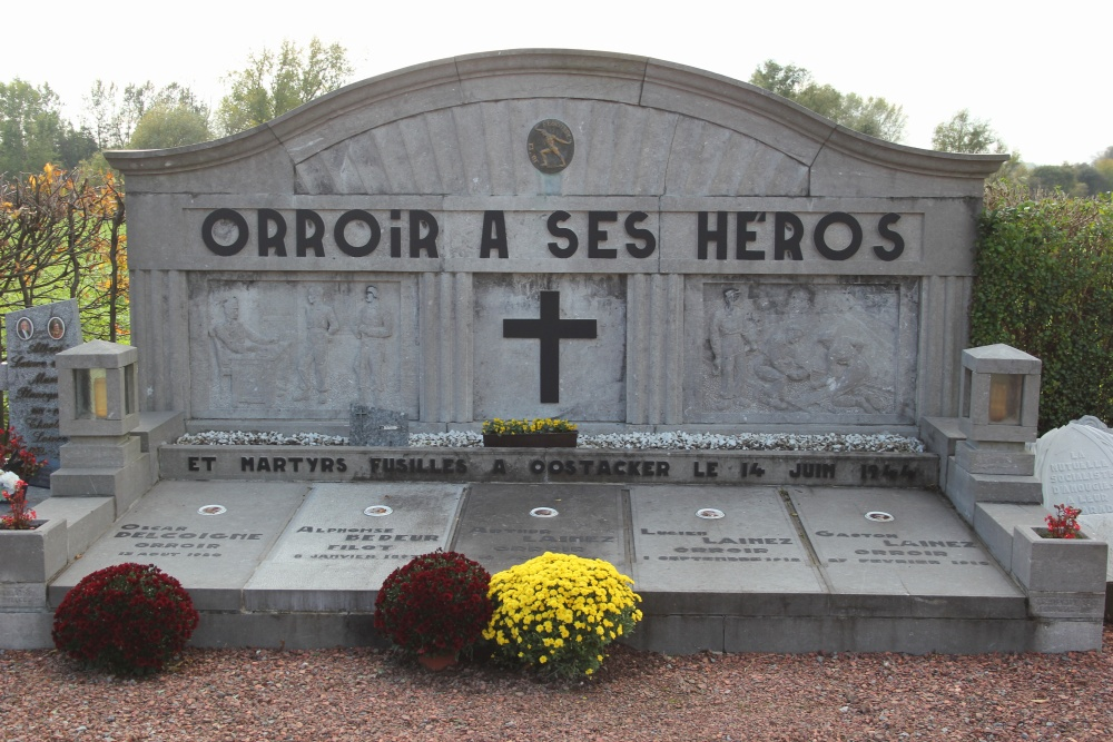 Monument « Dalle Sacrée » Orroir