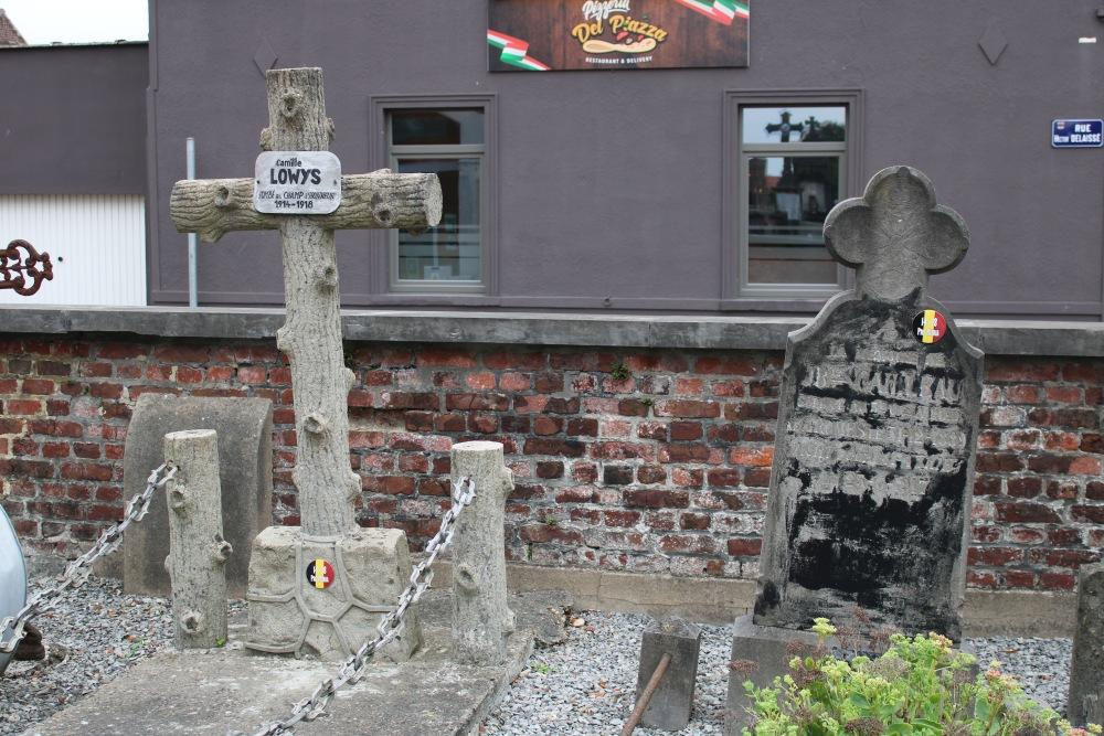 Belgische Oorlogsgraven Rumes