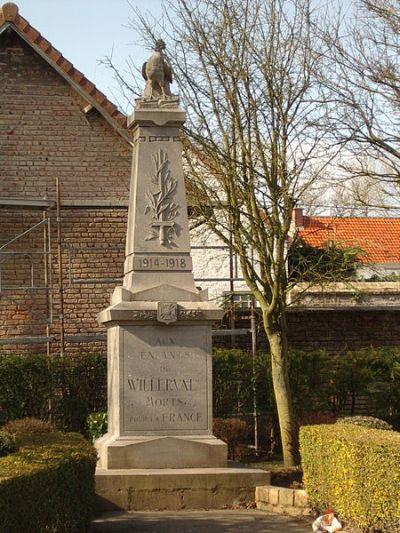 War Memorial Willerval