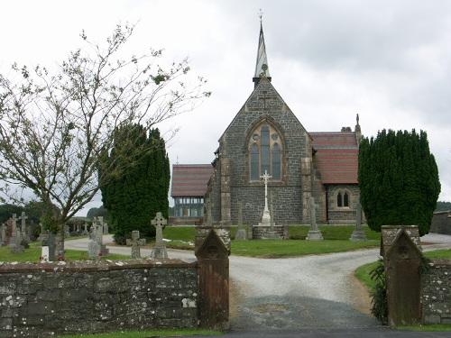 Commonwealth War Graves All Saints Episcopalian Churchyard