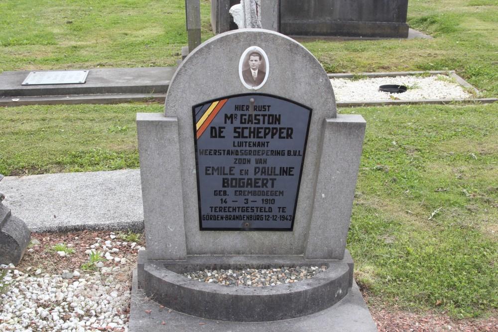 Belgian War Graves Erembodegem