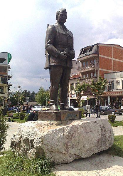 Standbeeld Čede Filipovski
