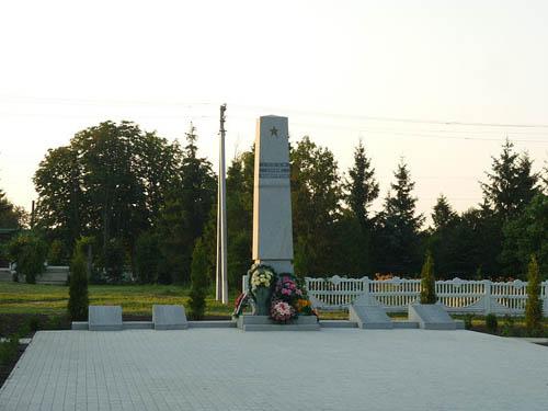 Mass Grave Soviet Soldiers Horodetske