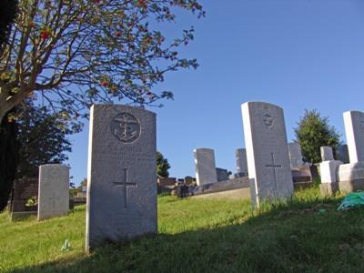 Oorlogsgraven van het Gemenebest Oystermouth Cemetery
