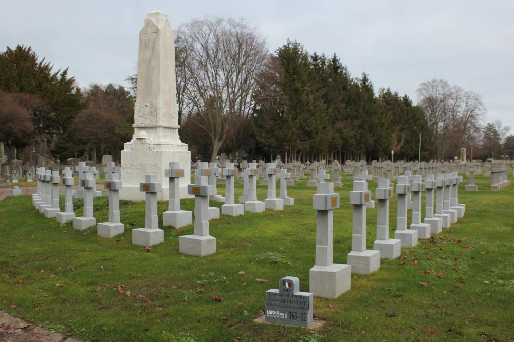 Italiaanse Oorlogsgraven Begraafplaats Robermont