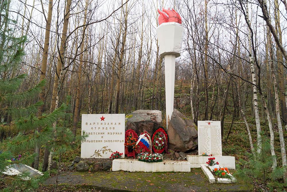 Mass Grave Soviet Soldiers Kolsky