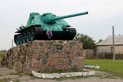 Bevrijdingsmonument (SU-100 Tankjager) Novyi Buh