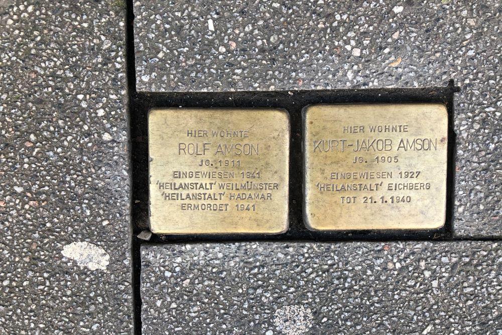 Stumbling Stones Taunusstraße 6
