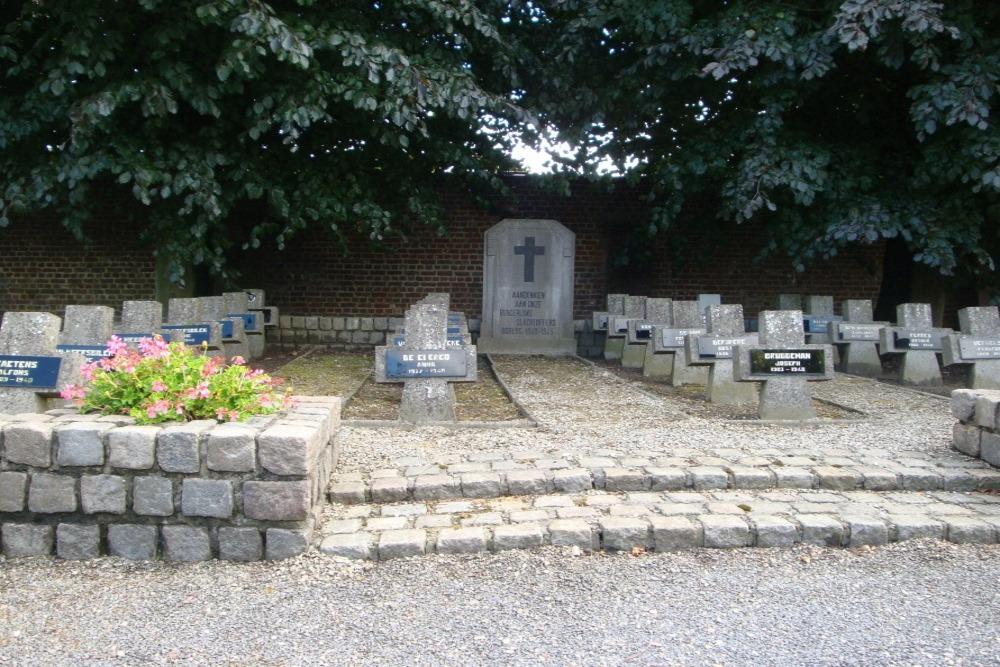 Graven Burgerlijke slachtoffers Tweede Wereldoorlog Tielt