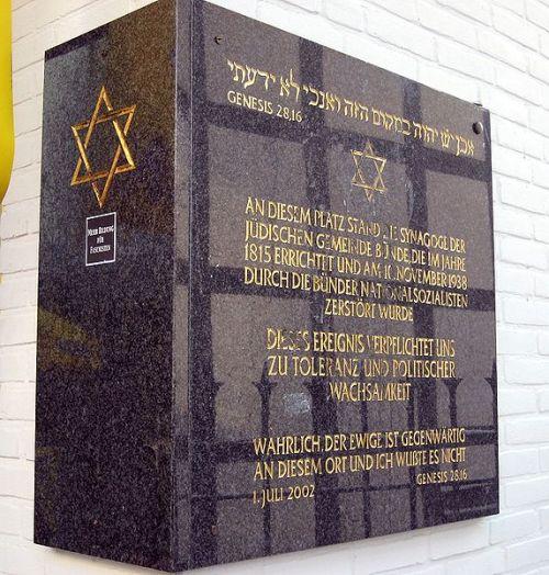 Memorial Synagogue Bünde