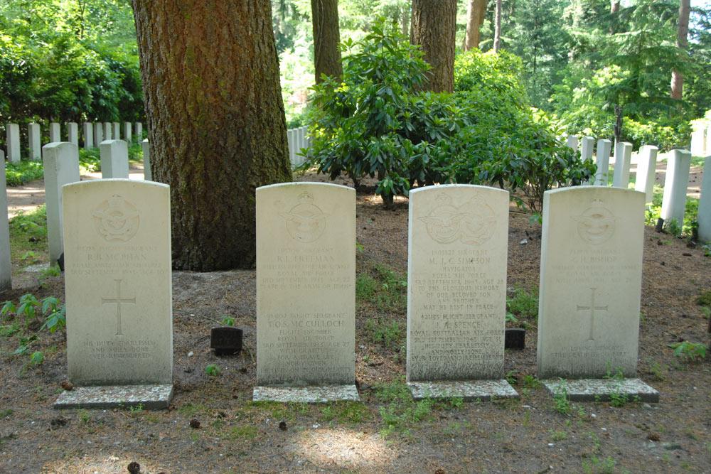 oorlogsgraven van het gemenebest oud leusden rusthof leusden rh tracesofwar nl