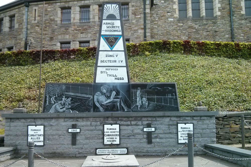 Monument Armee Secrete Ardennes