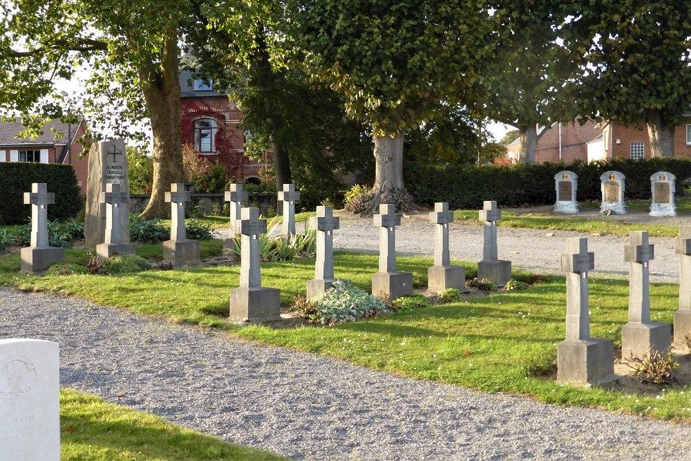 Italiaanse Oorlogsgraven Saint Servais