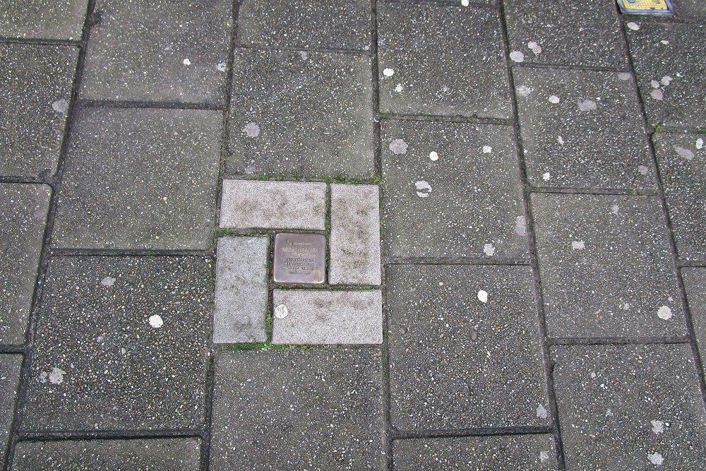 Herdenkingssteen Geleenstraat 78