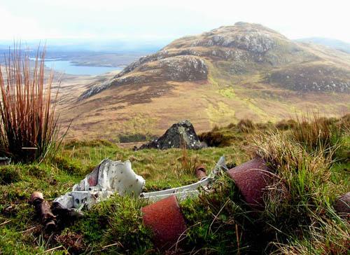 Crash Site & Wreckage HP.52 Hampden Bomber Ben Loyal