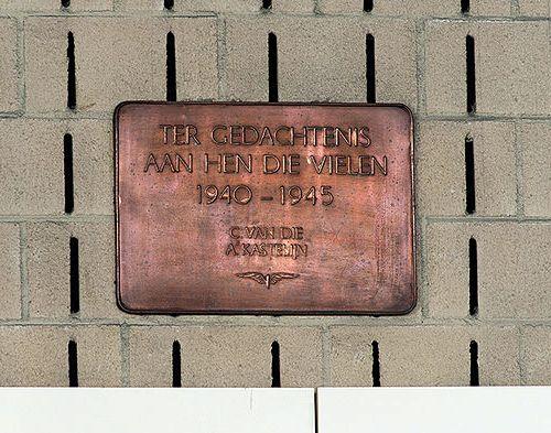 Plaque Killed Railway-Employees Barendrecht