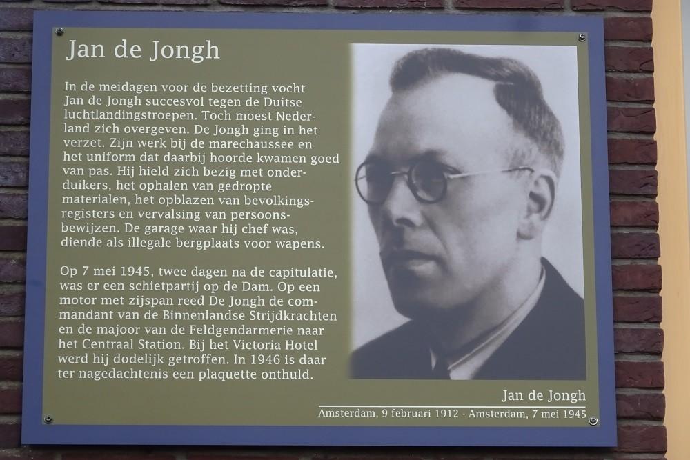 Memorial Plates Slotermeer Jan de Jonghkade