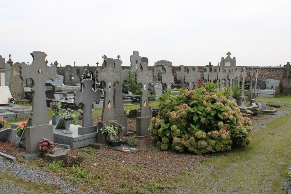 Belgian War Graves Froidmont