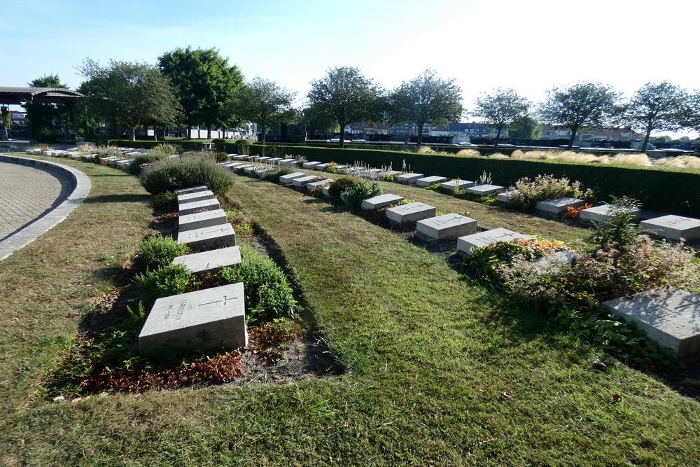 Belgian War Graves Oostende