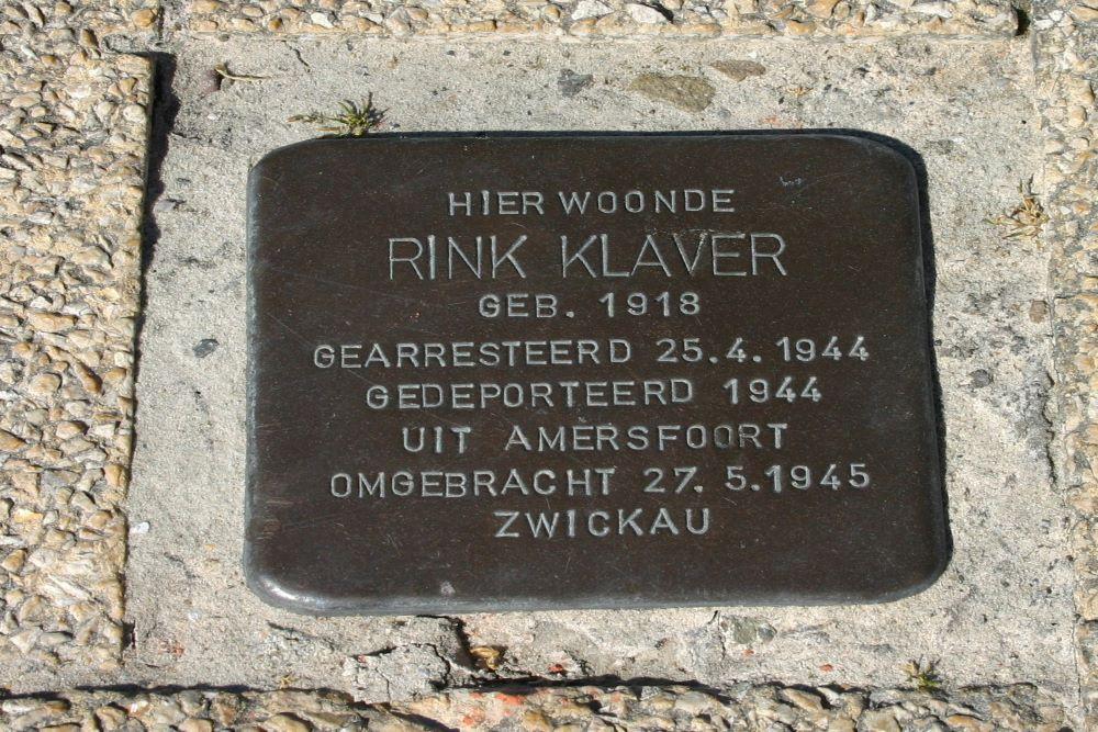 Stumbling Stone Kerklaan 3 (now Kerklaan / Kerkplein)