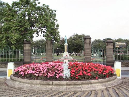 Commonwealth War Graves Audenshaw Cemetery
