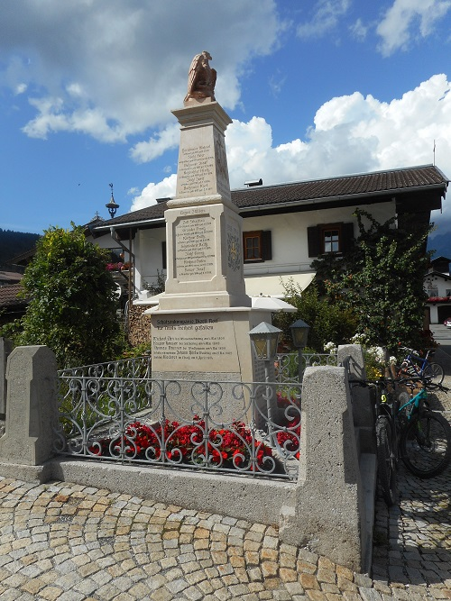 War Memorial Reith bei Kitzbühel
