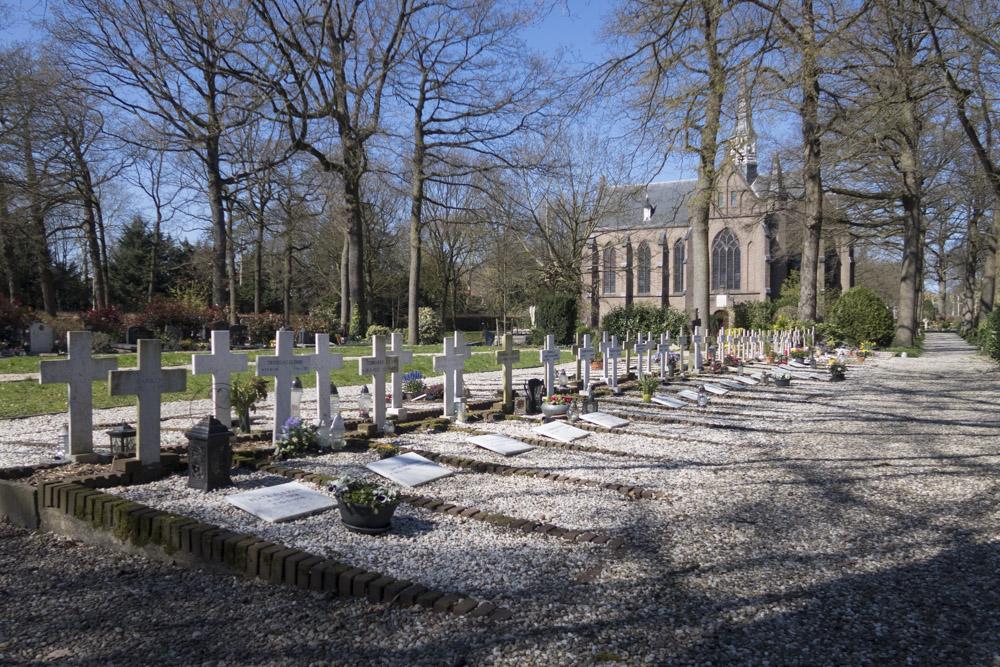 Graven Poolse Veteranen St. Barbara