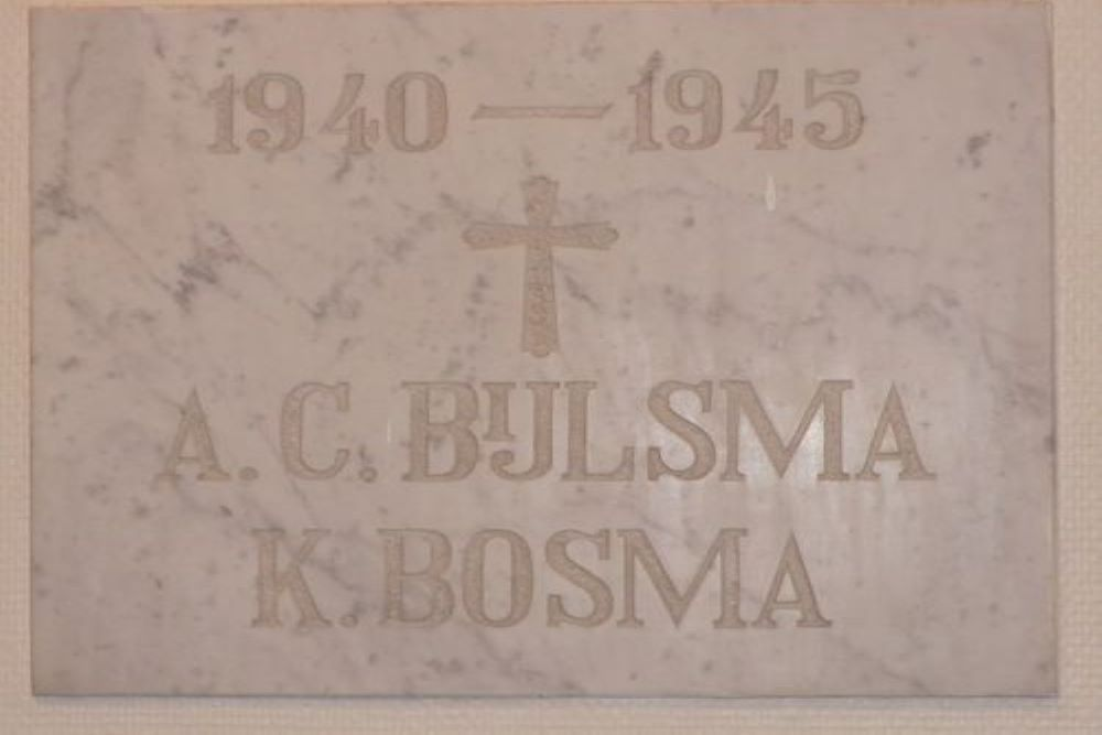 Memorial Stone De Kruisberg