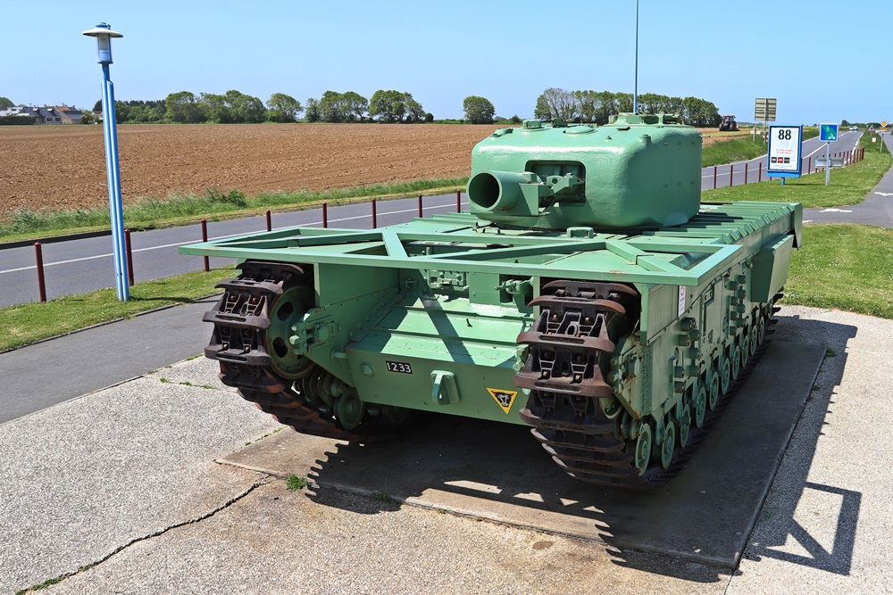 Churchill Avre Tank
