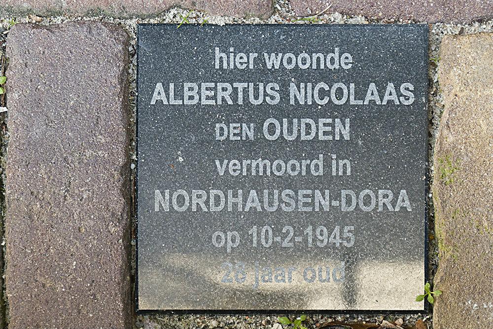 Memorial Stone Breestraat 80