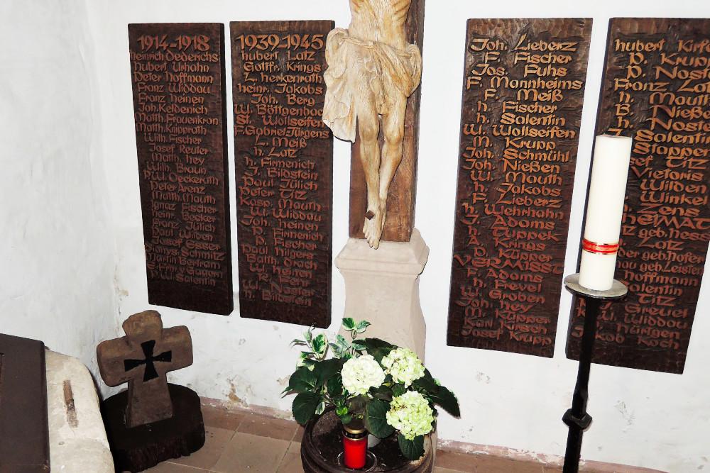 War Memorial Vlatten Church