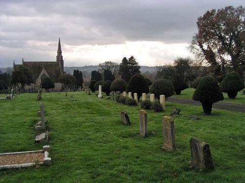 Oorlogsgraven van het Gemenebest Wimborne Minster Cemetery