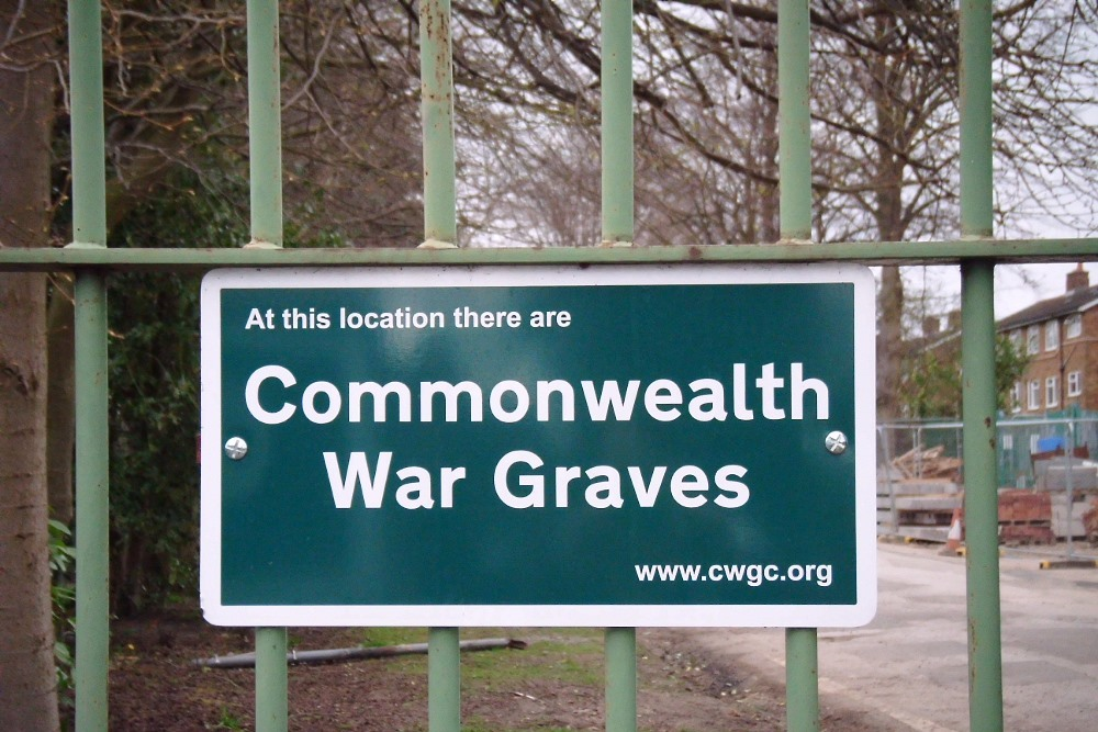 Commonwealth War Graves Boythorpe Cemetery