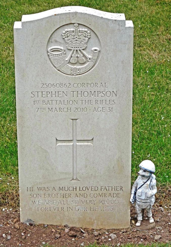 Brits Oorlogsgraf Beachley Barracks Military Cemetery