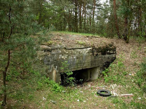 Rawka-Bzura-Stellung - Regelbau 701 Ruda (A)