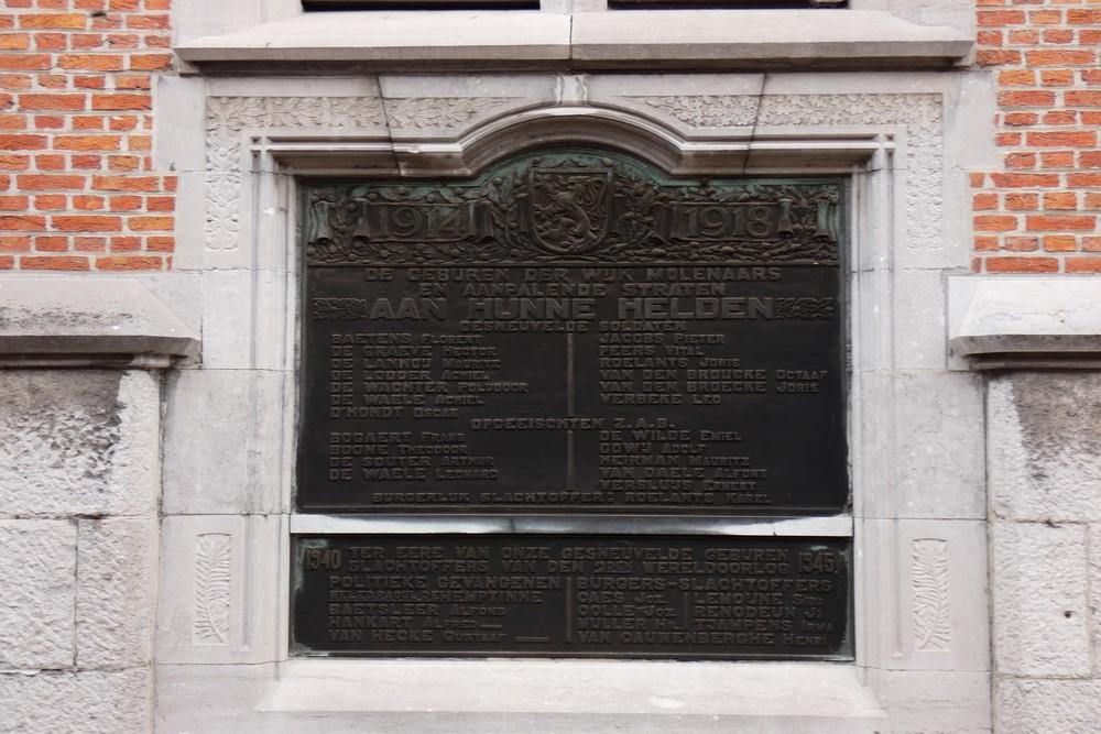War Memorial Molenaarsstraat