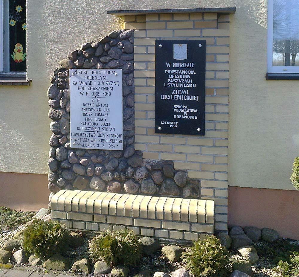 War Memorial Urbanowo