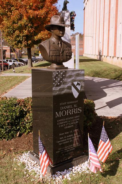 Monument Ssgt. Daniel M. Morris