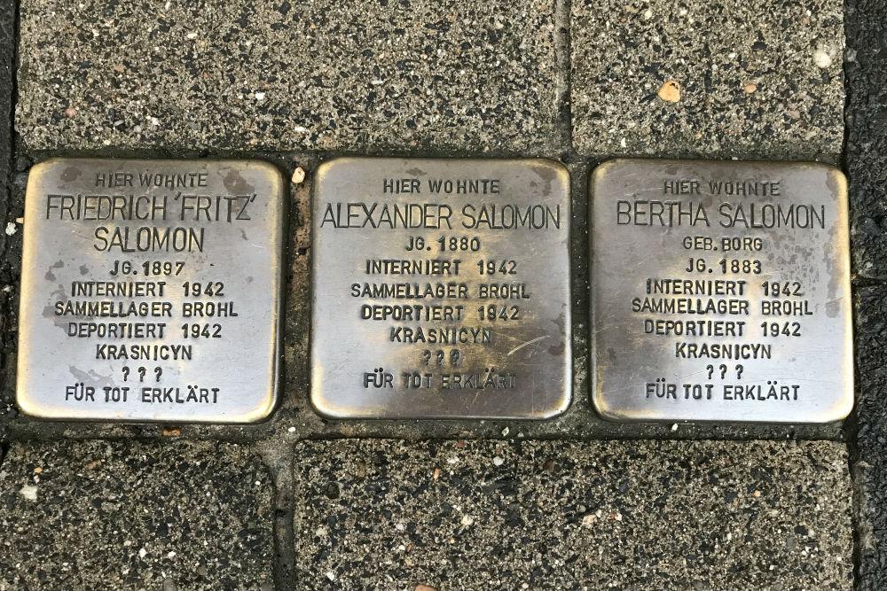 Stumbling Stones Wendelstraße 9