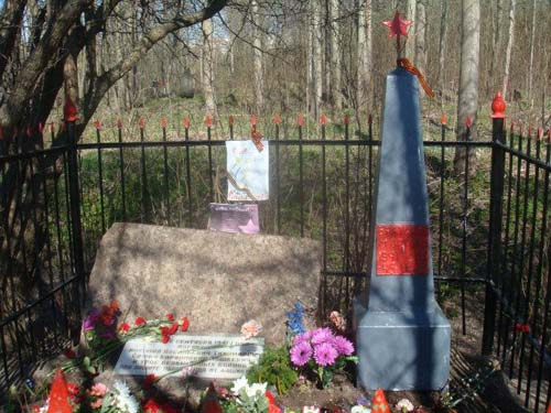 Collective Grave Russian Soldiers St. Petersburg-Uritsk