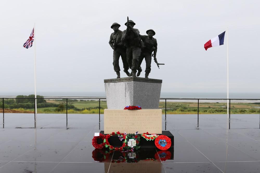 Brits Normandië Monument